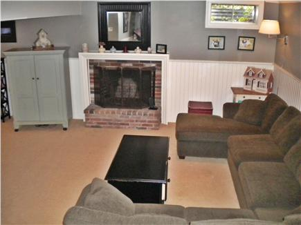 Osterville Osterville vacation rental - Family /TV room, fireplace ,pullout couch in finished basement