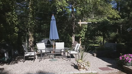 Osterville Osterville vacation rental - Outside patio with gas grill