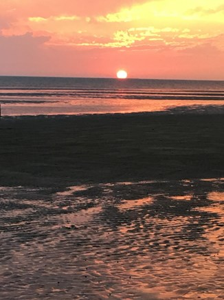 Brewster Cape Cod vacation rental - Sunset on Crosby beach