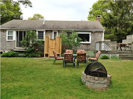 Brewster Cape Cod vacation rental - Enjoy a lovely yard with outside shower