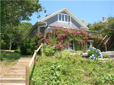 Chatham Cape Cod vacation rental - Front of the cottage facing the beach