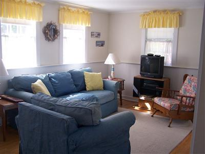 Barnstable Cape Cod vacation rental - Comfy Couch & Easy Chairs for Reading or Enjoying a Movie or Game