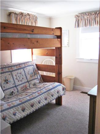 Barnstable Cape Cod vacation rental - Second Bedroom with Bunk-Double Bed on bottom, twin on top
