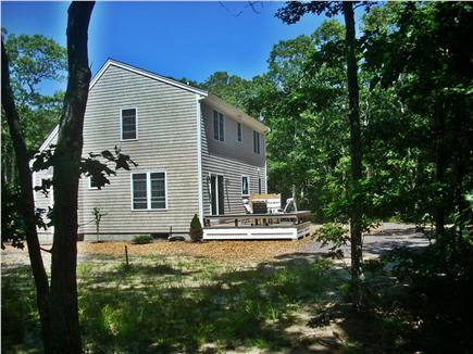 eastham Cape Cod vacation rental - Have fun playing games in the large wooded yard