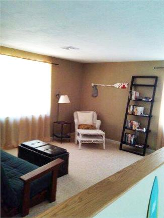 eastham Cape Cod vacation rental - Loft area w. futon for extra sleeping,reading,games