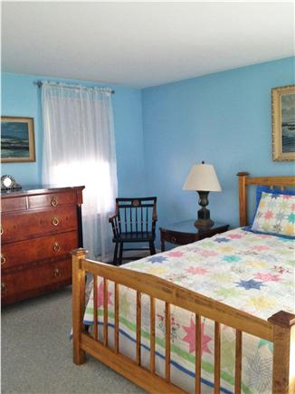 Mashpee, Popponesset Cape Cod vacation rental - First floor master bedroom with queen size bed and private bath