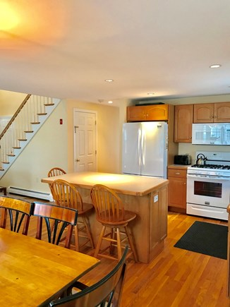 Mashpee, Popponesset Cape Cod vacation rental - Dining and kitchen area