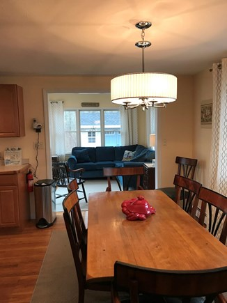 Mashpee, Popponesset Cape Cod vacation rental - Dining area to sunroom