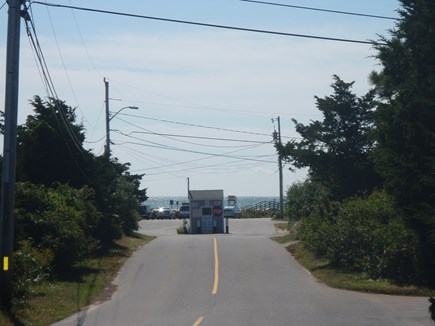Chatham Cape Cod vacation rental - Look Toward Beach From Ridgevale Road at Property