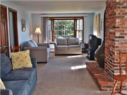 Chatham Cape Cod vacation rental - Living Area with TV & 3 Couches