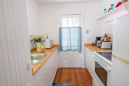Woods Hole Woods Hole vacation rental - Galley kitchen nicely redone by architect.