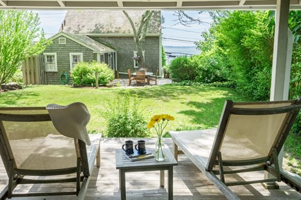 Woods Hole Woods Hole vacation rental - Relax on the deck on your lounge chairs & enjoy the ocean view.