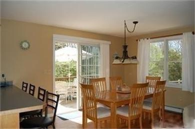 North Eastham Cape Cod vacation rental - Dine inside (6) or outside patio furniture with umbrella (4)