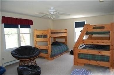 North Eastham Cape Cod vacation rental - Upstairs bunk room, with 2nd TV