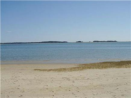 Orleans Cape Cod vacation rental - Private Beach down wooded path on Pleasant Bay