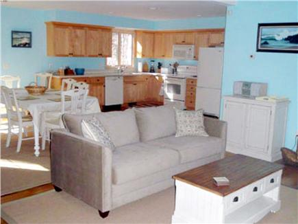 Orleans Cape Cod vacation rental - Living Area toward Dining and Kitchen