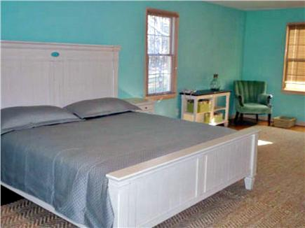 Orleans Cape Cod vacation rental - 2nd Bedroom with King Bed and day bed with bathroom access