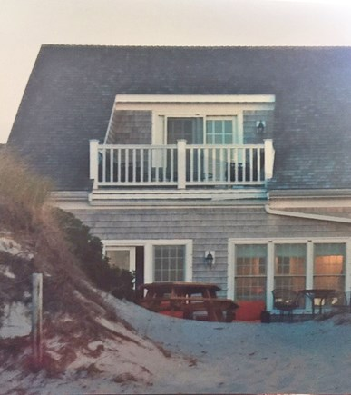 Dennis Cape Cod vacation rental - Deck overlooking the water