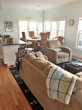 Dennis Cape Cod vacation rental - Living room
