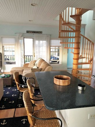 Dennis Cape Cod vacation rental - Kitchen/Living room view
