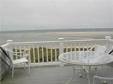 Dennis Cape Cod vacation rental - View from upper deck