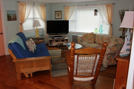 West Yarmouth Cape Cod vacation rental - Large living room for relaxing and futon can sleep 2