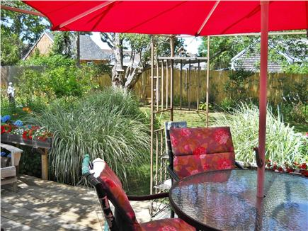West Yarmouth Cape Cod vacation rental - Enjoy your meals on the deck, by the pond