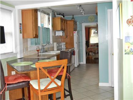 West Yarmouth Cape Cod vacation rental - Kitchen leading to living room