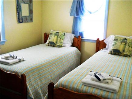 West Yarmouth Cape Cod vacation rental - 2nd bedroom with twins
