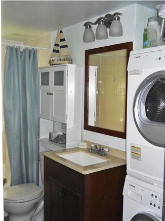 West Yarmouth Cape Cod vacation rental - Bathroom with W/D