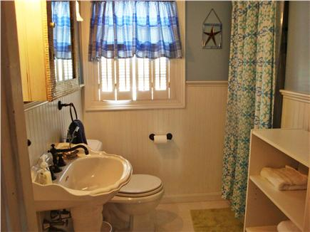 East Sandwich Cape Cod vacation rental - Oversized bath with tiled shower