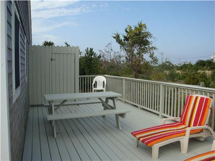 East Sandwich Cape Cod vacation rental - Deck and outside shower