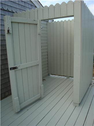 East Sandwich Cape Cod vacation rental - Large outdoor shower