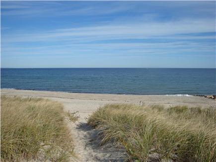 East Sandwich Cape Cod vacation rental - A private beach is just over the dune