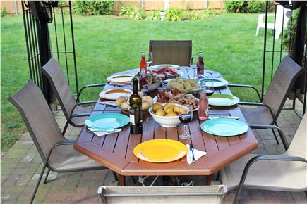 Hyannis Cape Cod vacation rental - Perfect set up for the famous New England clambboil