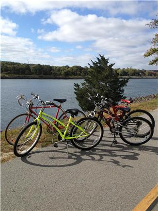 Hyannis Cape Cod vacation rental - Five courtesy bikes included when you stay as our guests