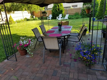 Hyannis Cape Cod vacation rental - Patio dining at it's best!