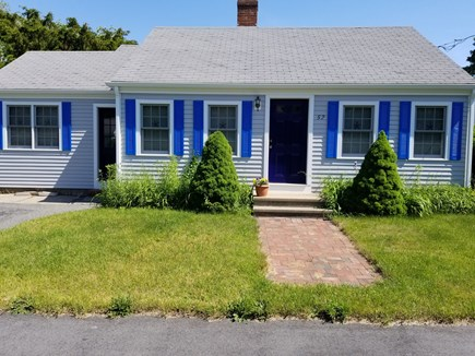 Hyannis Cape Cod vacation rental - Front of house quiet neiborhood plenty of parking.