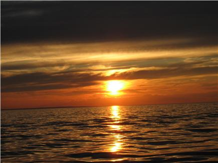 Dennis village Cape Cod vacation rental - Breathtaking sunsets at Corporation beach