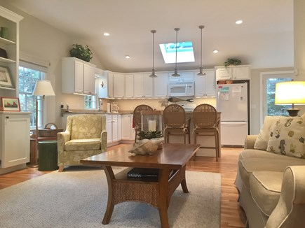 East Orleans Cape Cod vacation rental - Look From Living Area Toward Kitchen
