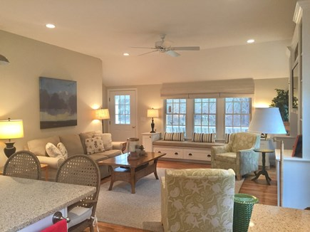 East Orleans Cape Cod vacation rental - Look at Living Area from Kitchen