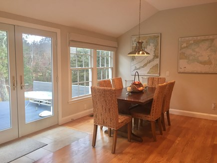 East Orleans Cape Cod vacation rental - Dining Area and Deck Access