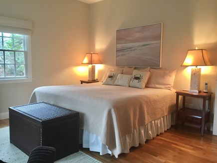 East Orleans Cape Cod vacation rental - Master Bedroom with King & Full Bathroom