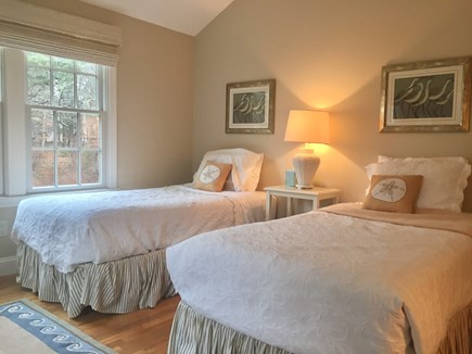 East Orleans Cape Cod vacation rental - 2nd Bedroom with 2 Twins