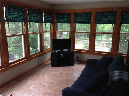 Brewster Cape Cod vacation rental - Sun room with pull out couch