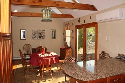Brewster Cape Cod vacation rental - Kitchen looking into dining area