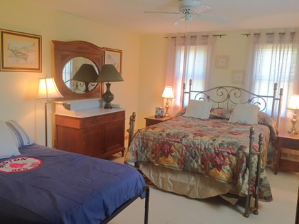 Brewster Cape Cod vacation rental - 3rd Bedroom with Queen and Twin