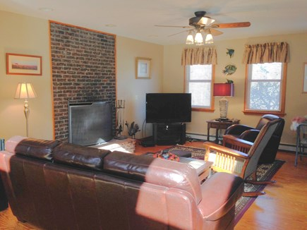 Brewster Cape Cod vacation rental - Living Area with Flat Screen TV