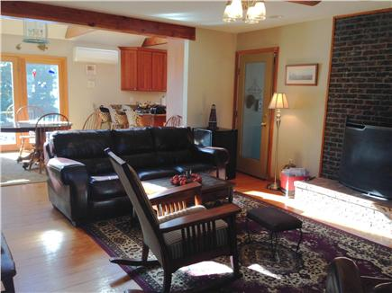 Brewster Cape Cod vacation rental - Another view of living area looking toward dining area