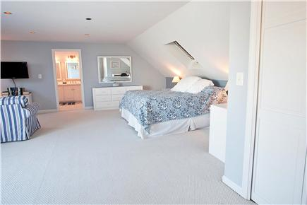 West Yarmouth Cape Cod vacation rental - Second floor master bedroom with King bed with sitting are area,